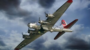 Military Boeing B 17 Flying Fortress 1920x1200 Wallpaper