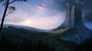 Landscape Sunrise 2560x1440 Wallpaper