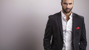 Beard Man Model Suit 3500x2448 Wallpaper