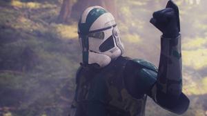 Clone Commander Gree Clone Trooper Star Wars 1920x1080 Wallpaper