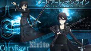 Kazuto Kirigaya Kirito Sword Art Online Sword Art Online 1920x1080 wallpaper
