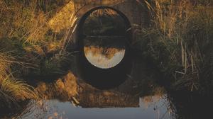 Stream Landscape 2096x3728 Wallpaper