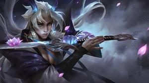 League Of Legends 4K Riot Games Yone League Of Legends Spirit Blossom 3840x2159 Wallpaper