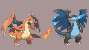 Charizard Pokemon Mega Charizard X Pokemon Mega Charizard Y Pokemon Mega Evolution Pokemon 5457x3080 Wallpaper