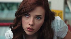 Red Hair Redhead Scarlett Johansson 1366x768 Wallpaper