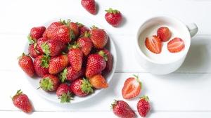 Berry Fruit Still Life Strawberry 5184x3456 Wallpaper