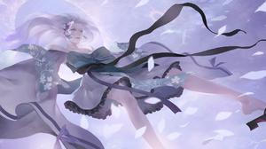 Digital Art Illustration Midfinger Original Characters 2200x970 wallpaper