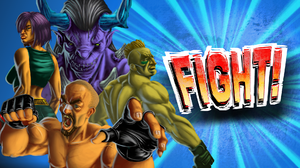 Video Game Fight 1920x1080 wallpaper