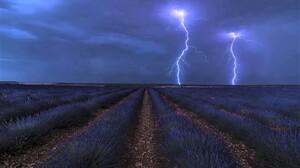 Lavender Storm Sky 1600x1068 Wallpaper