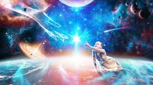 Space Planet 2560x1810 Wallpaper