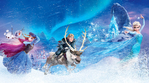 Anna Frozen Elsa Frozen Kristoff Frozen Olaf Frozen Sven Frozen 1920x1080 Wallpaper