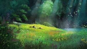 Anime Anime Boys Forest Nature Lake Studio Ghibli Karigurashi No Arrietty 1920x1080 Wallpaper