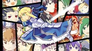 Archer Fate Zero Assassin Fate Zero Berserker Fate Zero Caster Fate Zero Gilgamesh Fate Series Illya 1400x990 Wallpaper