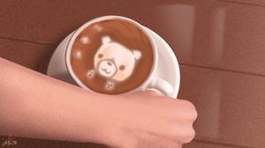 Hand Bear 5760x3240 wallpaper
