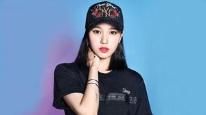 Twice Twice Mina Mina Myoi K Pop Asian Japanese Japanese Women Black Hair Dark Hair Pink Lipstick Bl 3840x2160 Wallpaper