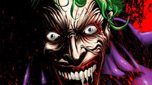 Gongon Joker Villains DC Comics Illustration Batman 1081x1531 Wallpaper
