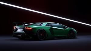 Lamborghini Car Supercar Sport Car Green Car 2560x1440 wallpaper