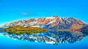 Mountain Reflection Lake Scenic 3840x2400 wallpaper