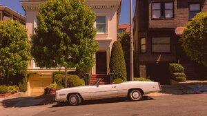 San Francisco Trees Car House Street Cabrio 2048x1364 Wallpaper