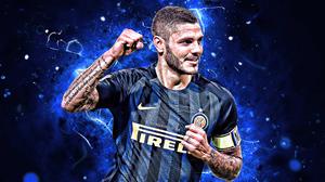 Argentinian Inter Milan Mauro Icardi Soccer 2880x1800 Wallpaper