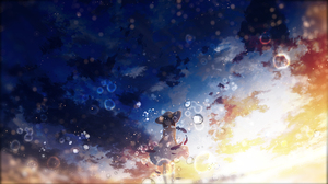 Bubble Girl Original Anime 2560x1440 Wallpaper