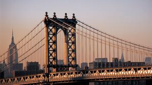 Manhattan Bridge 1920x1200 Wallpaper