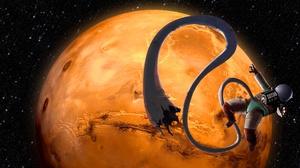 Astronaut Planet 2560x1333 Wallpaper