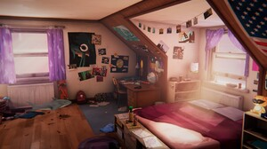 Life Is Strange Life Is Strange Before The Storm Video Games PC Gaming Screen Shot Interior Room 3840x2160 Wallpaper