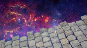 Cobblestone Space 3840x2160 Wallpaper