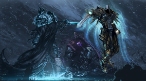 Heroes Of The Storm Tyrael Diablo Iii Sarah Kerrigan 6300x2700 Wallpaper