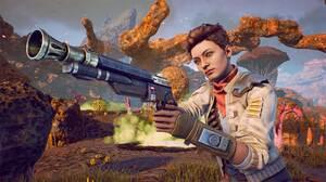 Girl Gun The Outer Worlds Weapon 1920x1080 Wallpaper