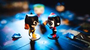 Batgirl Funko Pop Harley Quinn 6265x4177 Wallpaper