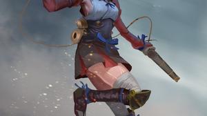 Koutetsujou No Kabaneri Girls With Guns Female Soldier Short Hair Black Hair Ahoge Anime Girls Mumei 2480x3508 Wallpaper