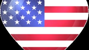 American Flag Flag Heart 6000x5216 Wallpaper