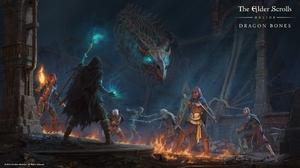 The Elder Scrolls Online The Elder Scrolls Online Dragon Bones RPG Video Games PC Gaming 2018 Year 1920x1080 Wallpaper