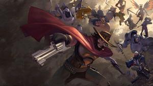 Genji Overwatch Hanzo Overwatch Junkrat Overwatch Mccree Overwatch Mercy Overwatch Overwatch Reaper  2276x1280 Wallpaper