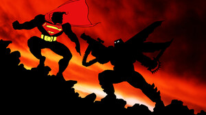 Batman Superman The Dark Knight Returns 1920x1080 Wallpaper