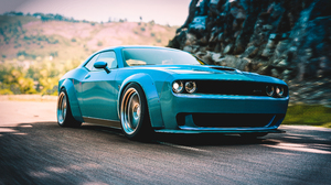Dodge Forza Car 3839x2108 Wallpaper