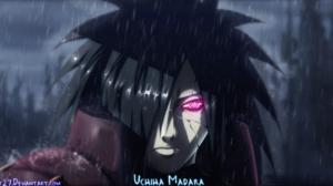 Madara Uchiha Ninja Rain Rinnegan Naruto 2300x1168 Wallpaper