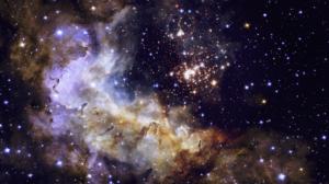 Westerlund 2 Space Nebula NASA Hubble Science Stars Universe 1920x1080 Wallpaper