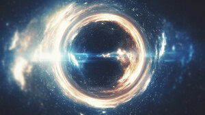 Black Hole Sci Fi Space 1920x1200 wallpaper
