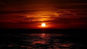 Nature Sky Sun Sunset 3840x2400 Wallpaper