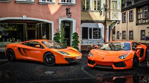 Vehicles Lamborghini Aventador 3840x2160 Wallpaper
