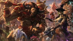 World Of Warcraft Horde Taurens Undead 2560x1526 Wallpaper