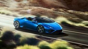Lamborghini Huracan Lamborghini Car Blue Car Sport Car Supercar 2500x1415 Wallpaper