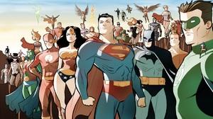 Zatanna Martian Manhunter Flash Supergirl Wonder Woman Superman Batman Black Canary Hawkman Powergir 1920x1080 Wallpaper