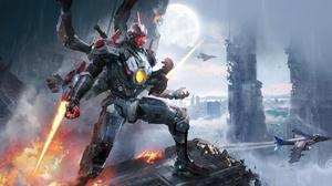 Futuristic Robot 3840x2028 Wallpaper