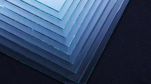 Abstract Glass Shiny Texture Pattern Closeup Blue 6720x4480 Wallpaper