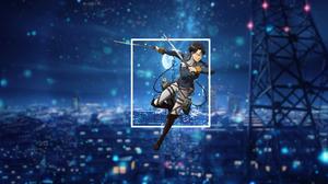 Anime Picture In Picture Shingeki No Kyojin 1920x1080 Wallpaper