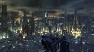 Batman Arkham City Gotham City Batman 1920x1080 Wallpaper